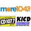 KICD / CD 107.7 / MORE 104.9