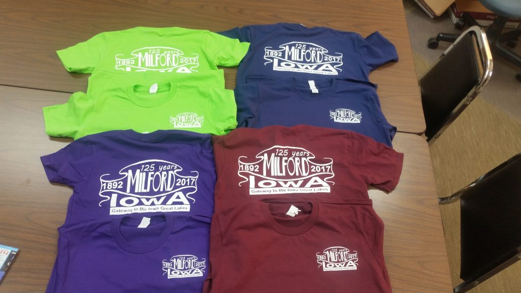 Youth and Adult S-XL $10 each, Adult 2XL & 3XL $12 each