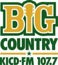 BIG Country 107.7 • KICD AM 102.5 FM and 1240 AM • MORE 104.9 • 98.9 CHUCK FM • PURE Oldies 98.3