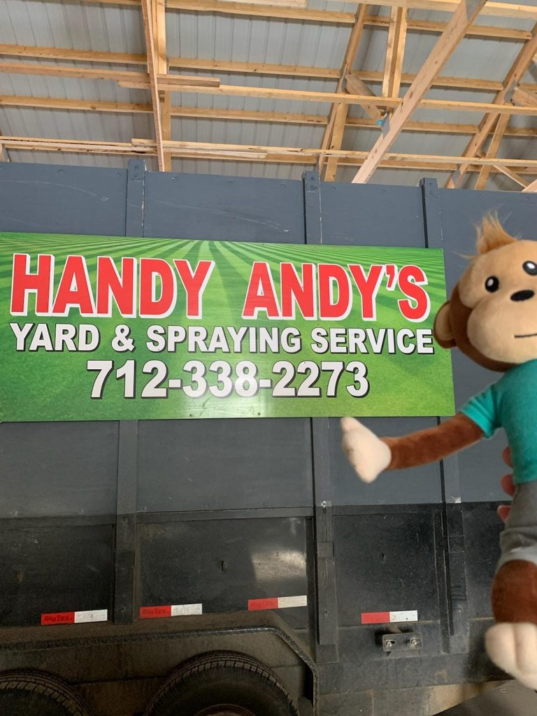 Milton at Handy Andy's