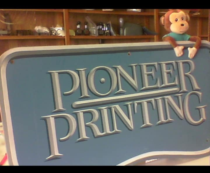 Milton at Pioneer Printing